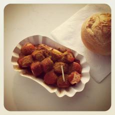 Currywurst von Marias Imbiss