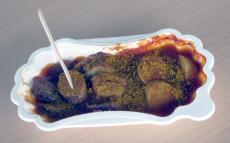 Rügenwalder Mühlen Currywurst gegrillt zubereitet