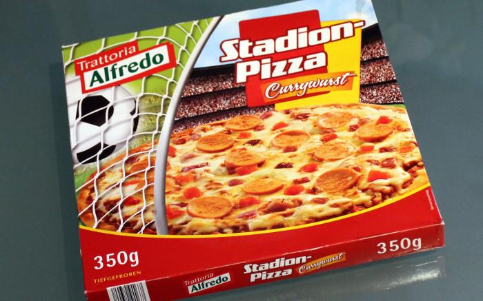 Alfredo Stadionpizza Currywurst