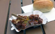 Currywurst vom Bahnhofs-Grill