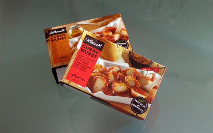 Gutknecht Currywurst mild & pikant