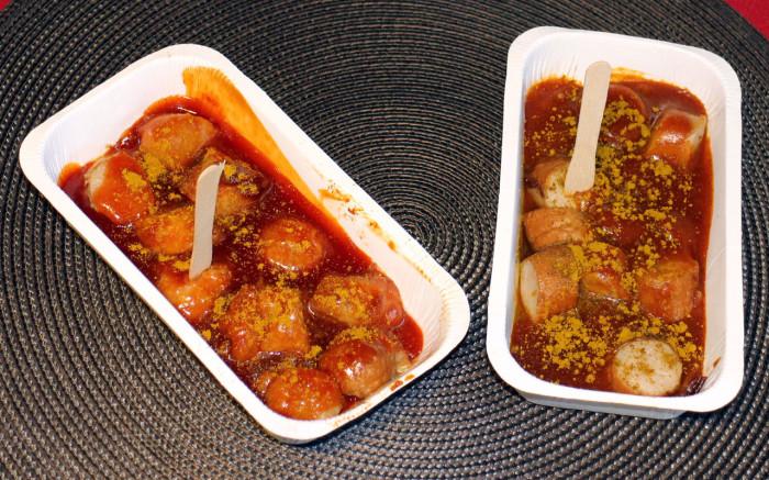 Gutknecht Currywurst mild & pikant zubereitet