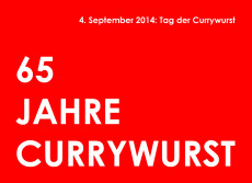 Tag der Currywurst 2014