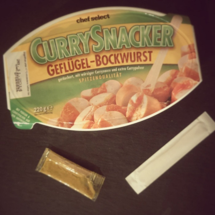 Curry Snacker Verpackung