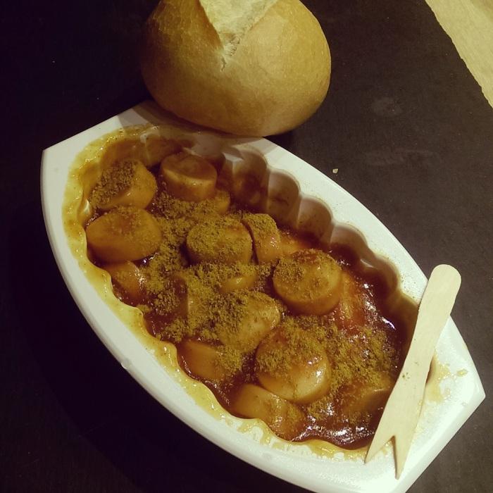 Curry Snacker mit Pulver